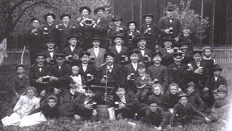 Kriegerverein-Gruppenbild