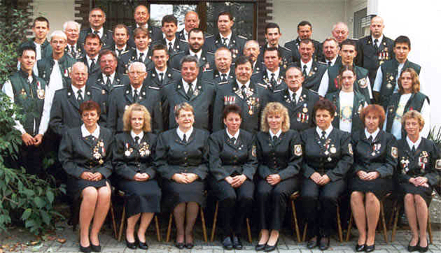 Unsere Schützengilde im Jahr 2001